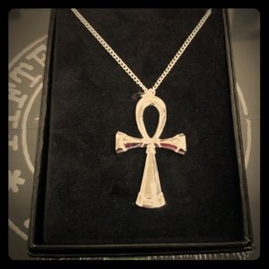 Death Ankh Necklace